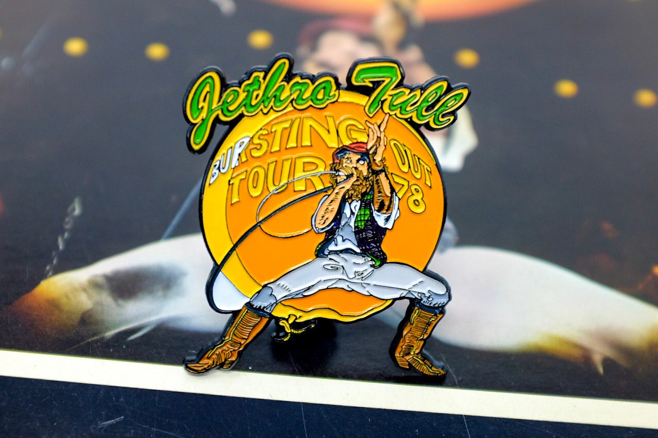 Image of Jethro Tull - Bursting Out Enamel Pin