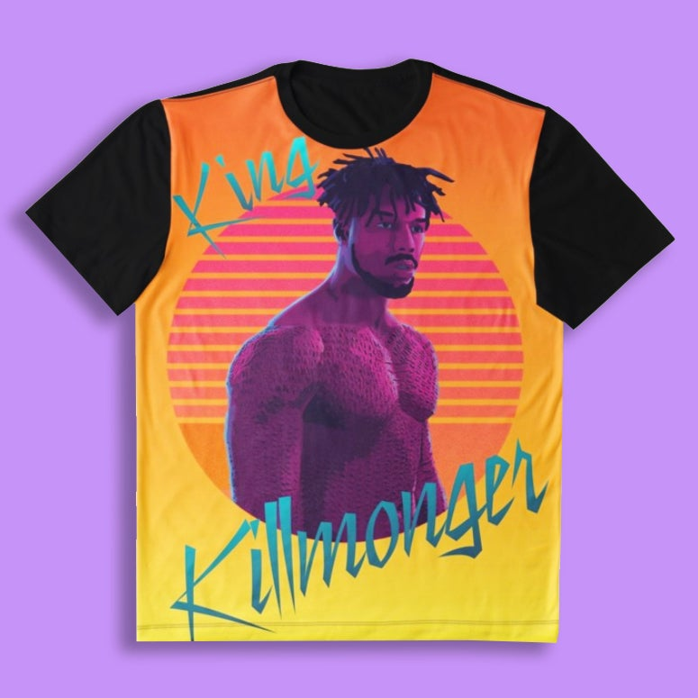 Image of King Killmonger (All-Over Tee)