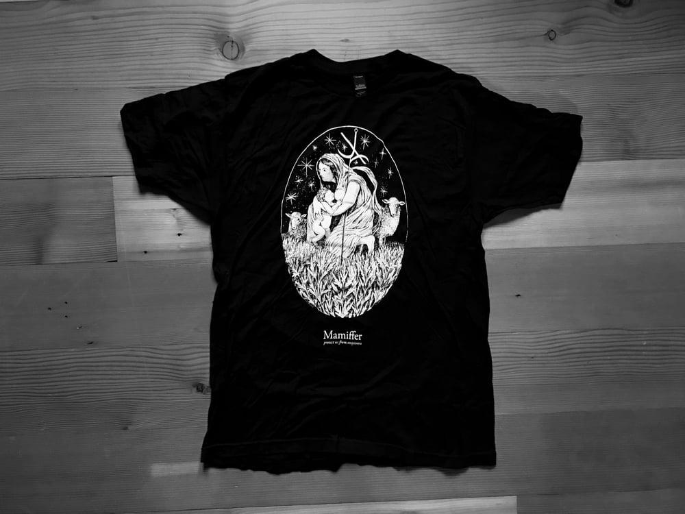 "Image of Mamiffer ""13 burning stars"" shirt"