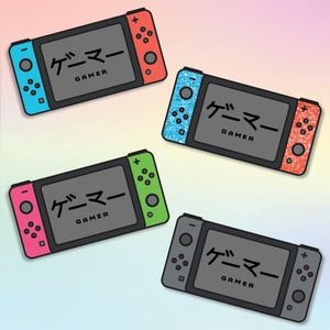 Image of Switch Gamer Pins
