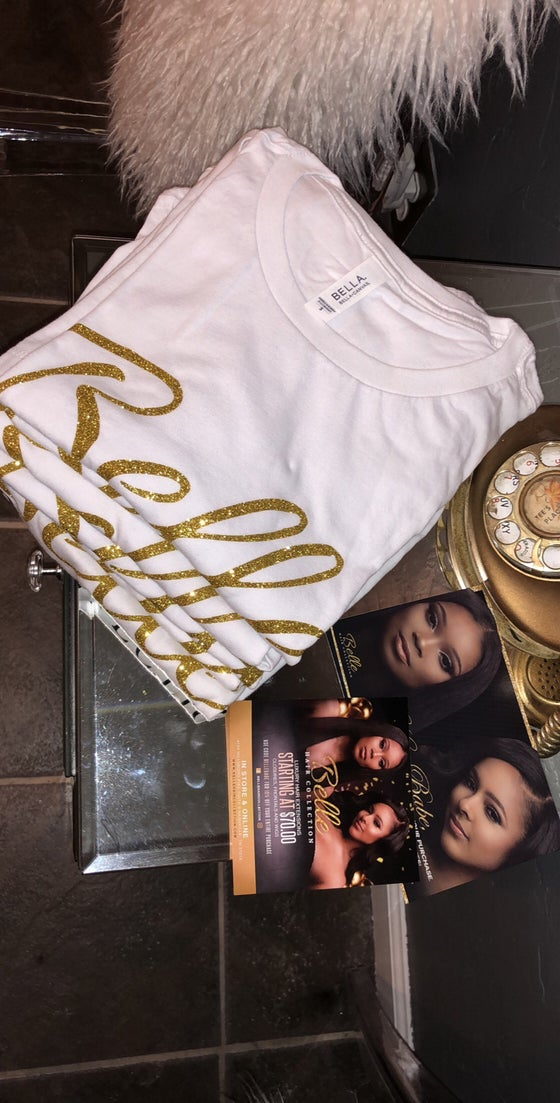 Image of Belle Hair Collection T-shirt