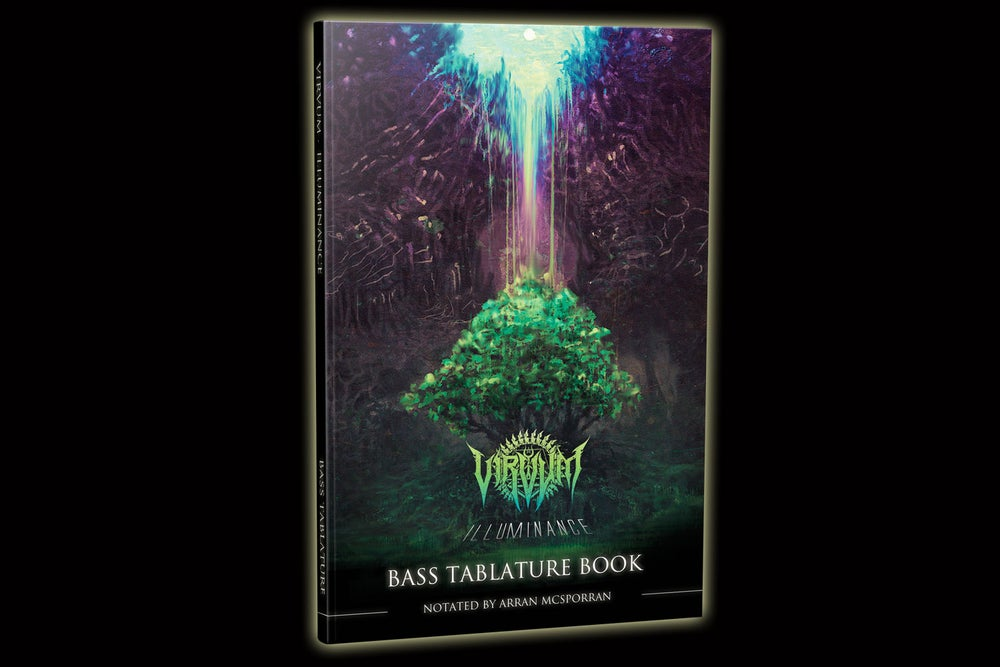 "Image of ""Illuminance"" Official Bass Tablature Book"