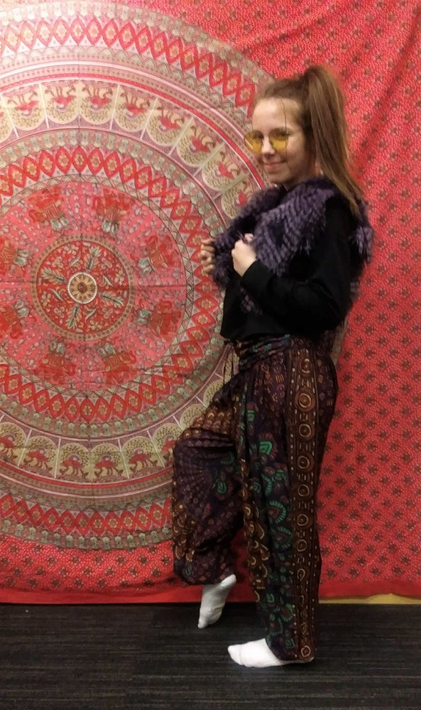 Image of Mandala Pants Straight Leg