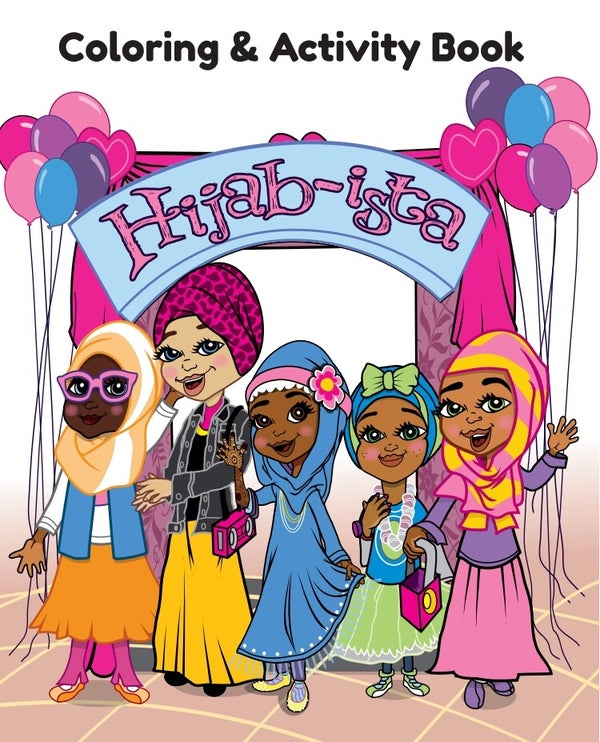 Image of Hijab~ista Coloring & Activity Book