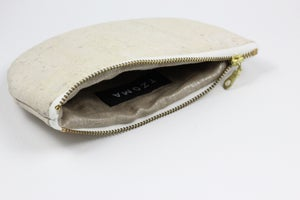 Image of Paula Clutch In White Cork