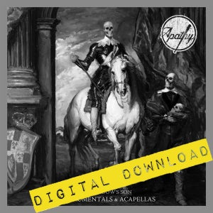 Image of [Digital Download] Apathy - The Widow's Son (Instrumentals + Acapellas) - DGZ-046