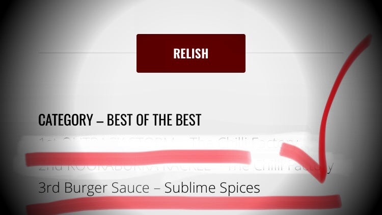 Image of SUBLIME Burger Sauce