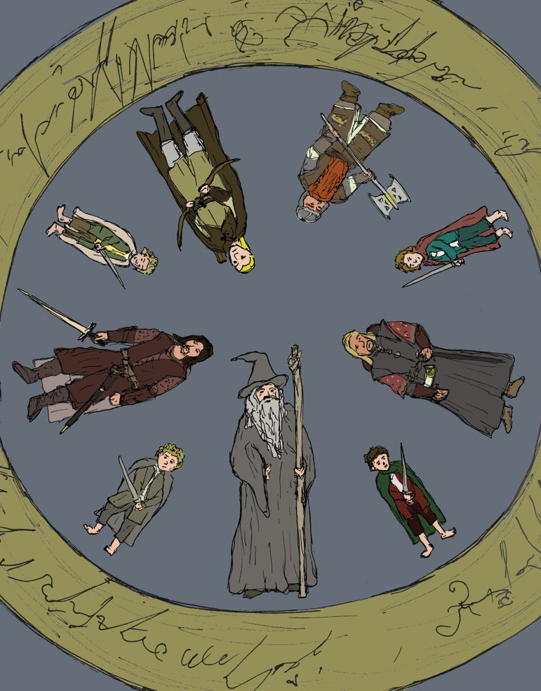 """Image of """"Round and Round We Go (to Mordor)"""""""