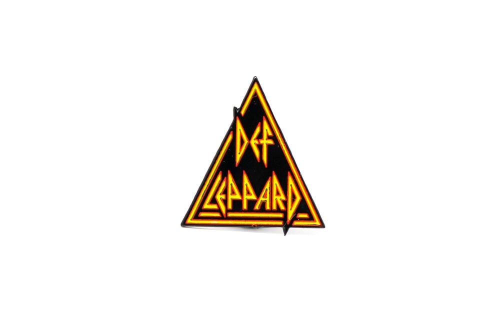 Def Leppard Logo Enamel Pin