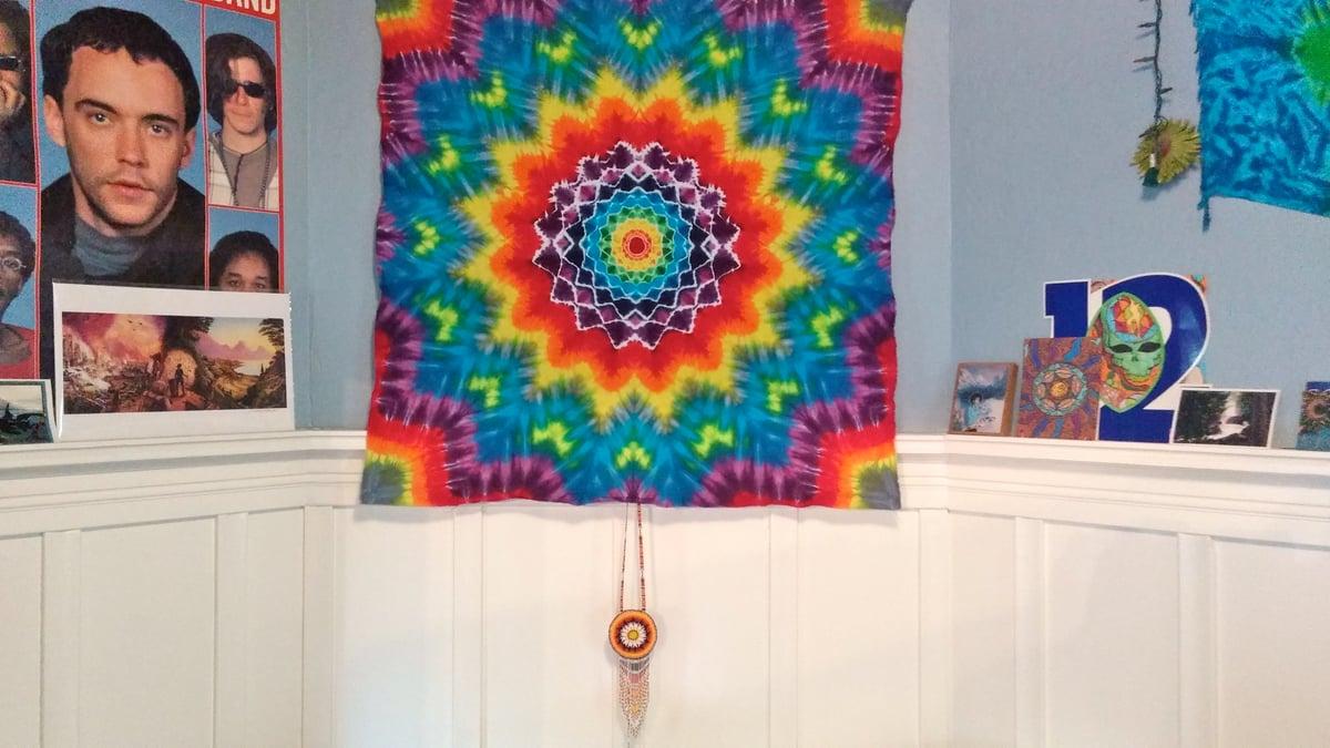 Mandala Tie Dye Tapestry #3!