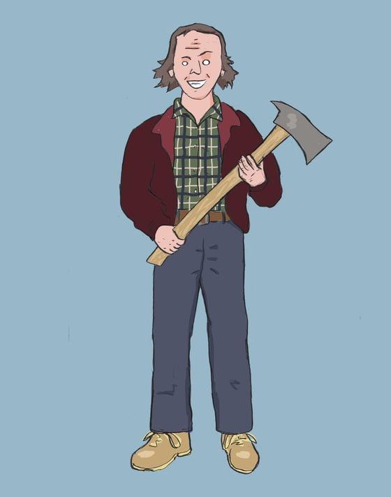 """Image of """"Herrrre's Johnny!"""""""