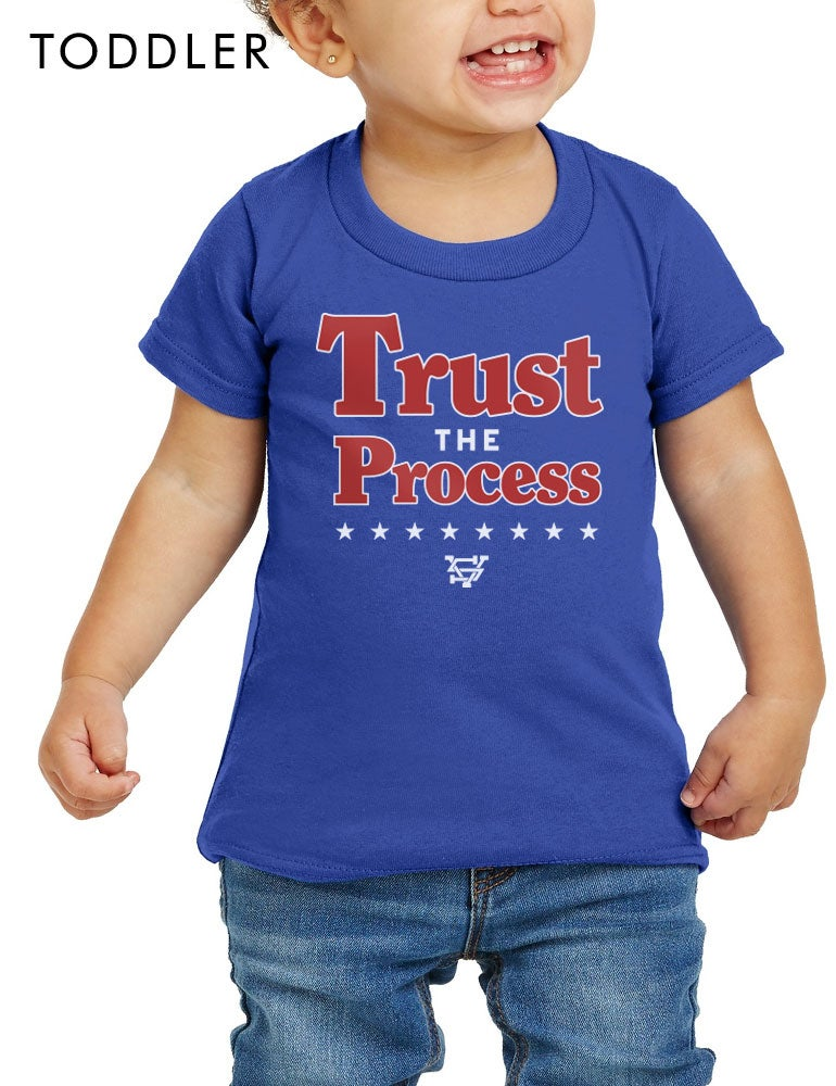 Image of Trust The Process Basketball Toddler T-Shirt