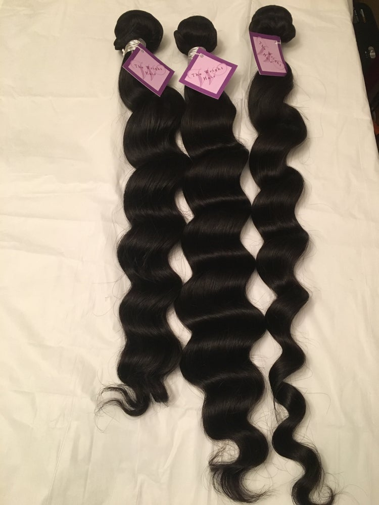 Image of 100% Virgin Human Hair -Loose Wavy