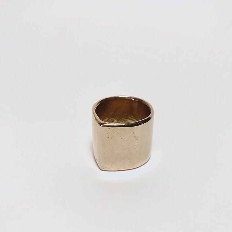 Image of Peaked Tube Ring