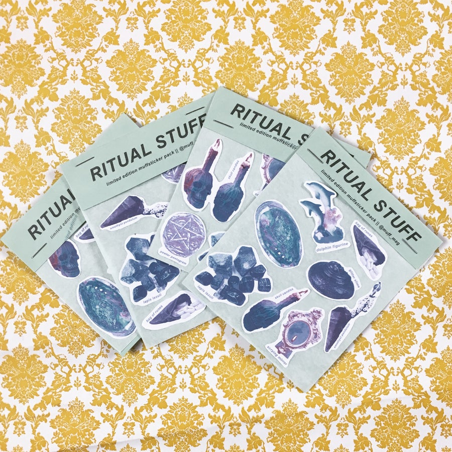 Image of Ritual Stuff Sticker Pack