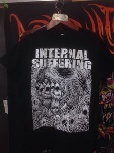 Image of INTERNAL SUFFERING	Russian Cyclone Tour MERCH (T-shirt/Hoodie)