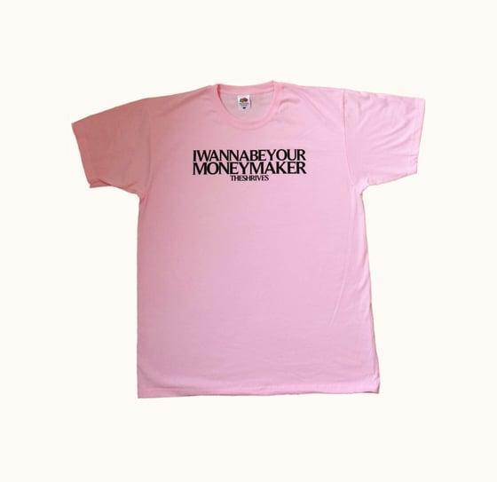 Image of Pink 'Money Maker' T Shirt