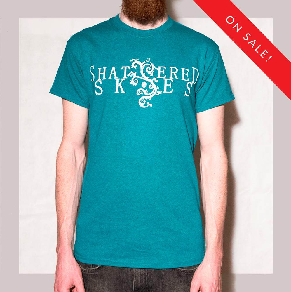 Image of Shattered Skies Logo T-Shirt (Jade)