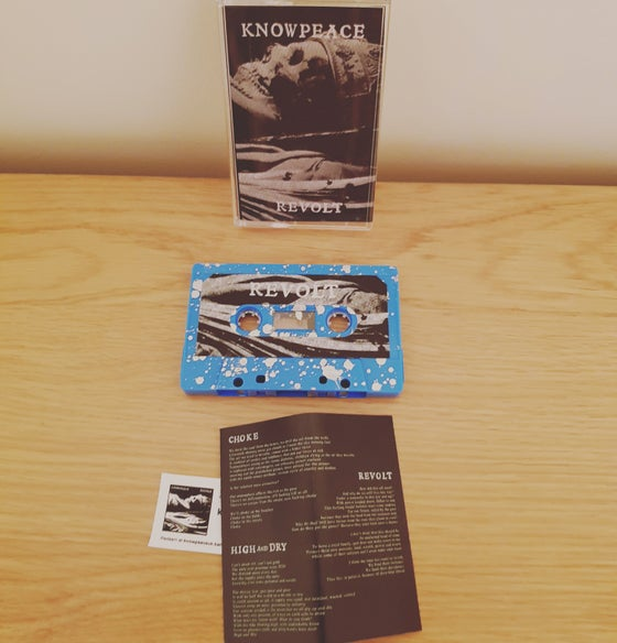 Image of Revolt by Knowpeace cassette tape