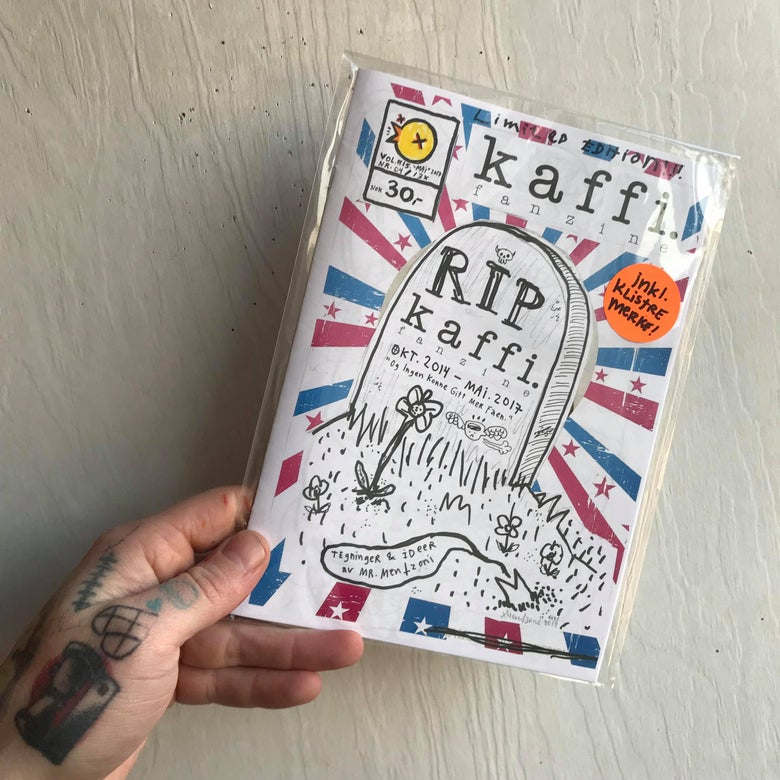 Image of kaffi fanzine Vol.#15 Limited Edition