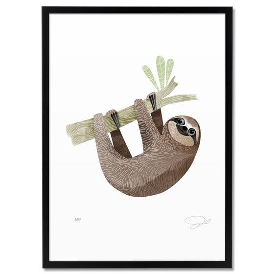 Image of Print: Sloth