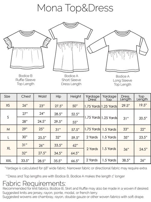Image of Mona Top&Dress Bundle