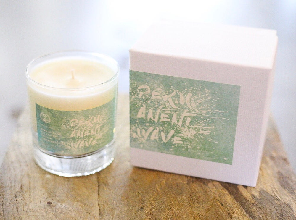 Image of Permanent wave candle