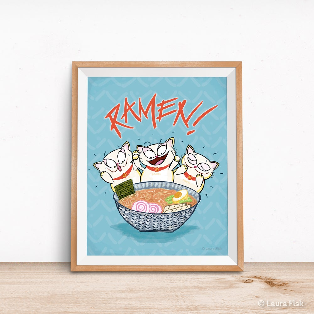 Image of Ramen Kitchen Print