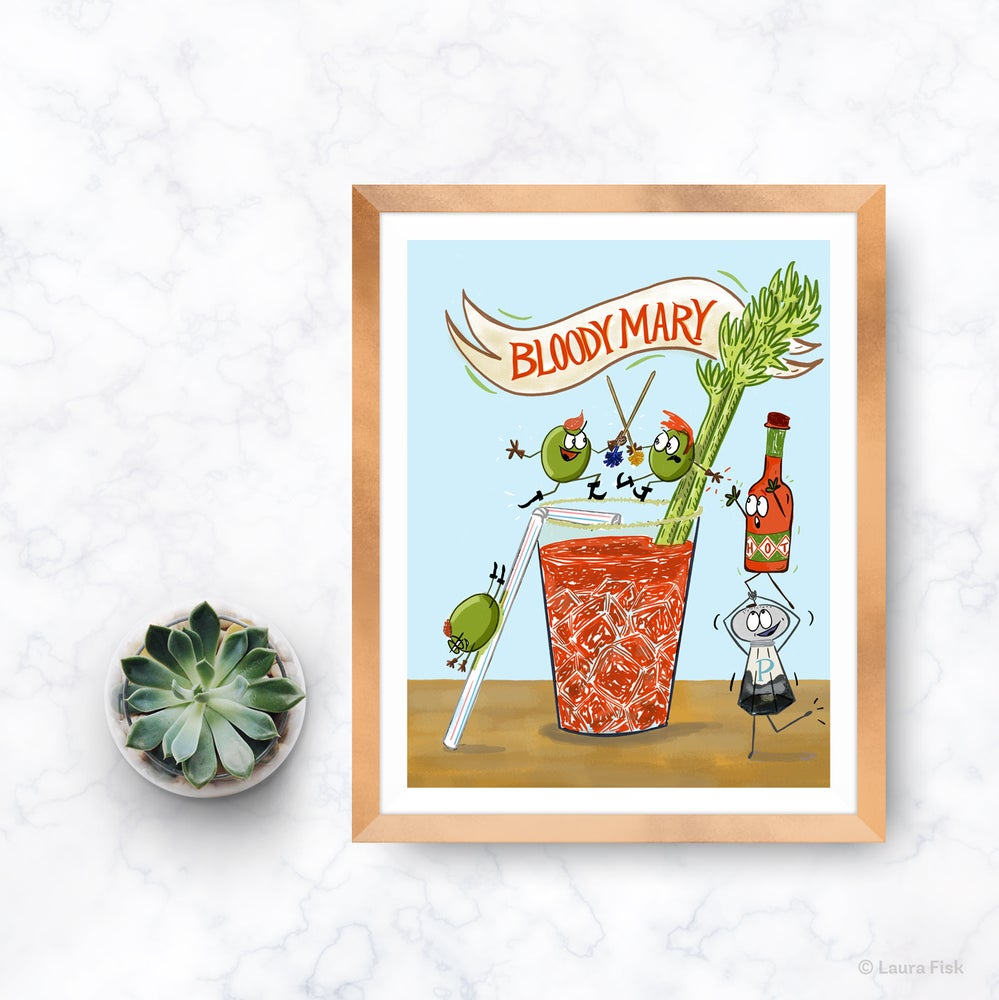 Image of Bloody Mary Kitchen Print