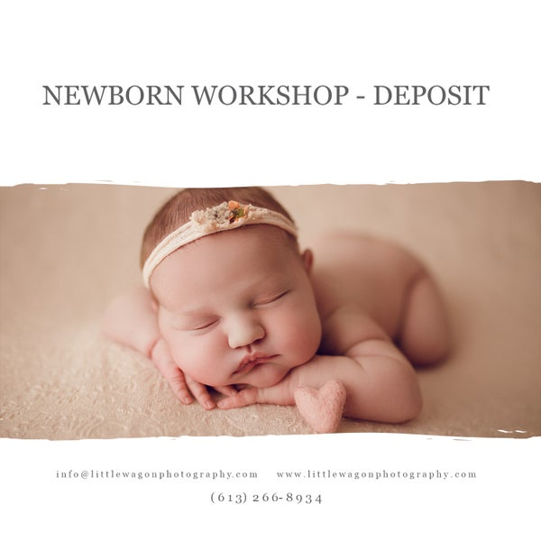 Image of Newborn Workshop - Deposit