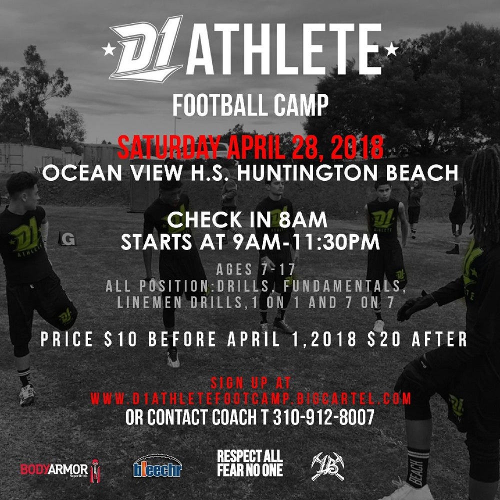 Image of D1 Athlete Football Camp