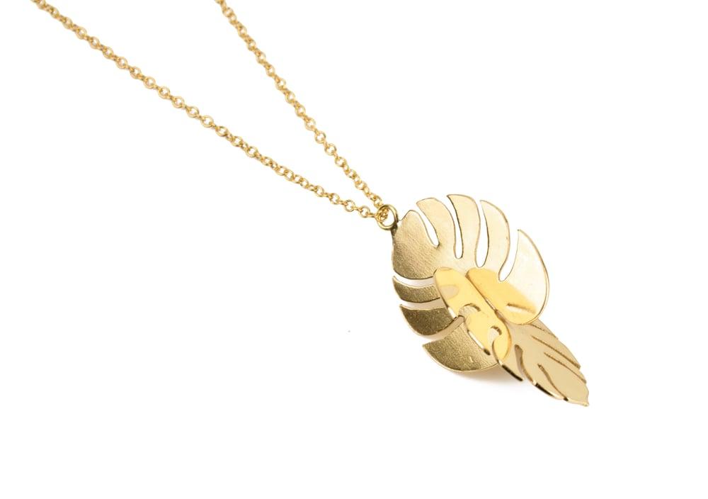 Image of Monstera Deliciosa Necklace