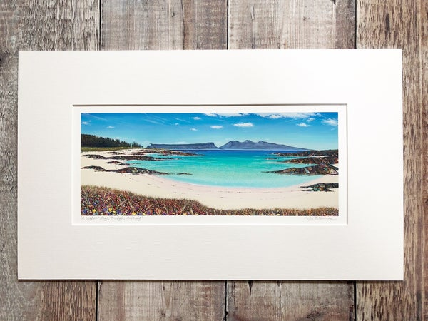 Image of Arisaig small panorama print