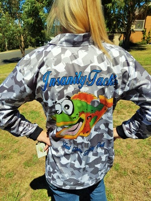 Image of Fishing jersey (grey) NEW COLOUR