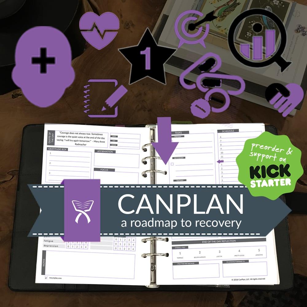 Image of PREORDER: CanPlan Cancer Planner Binder (Version 3 Undated)