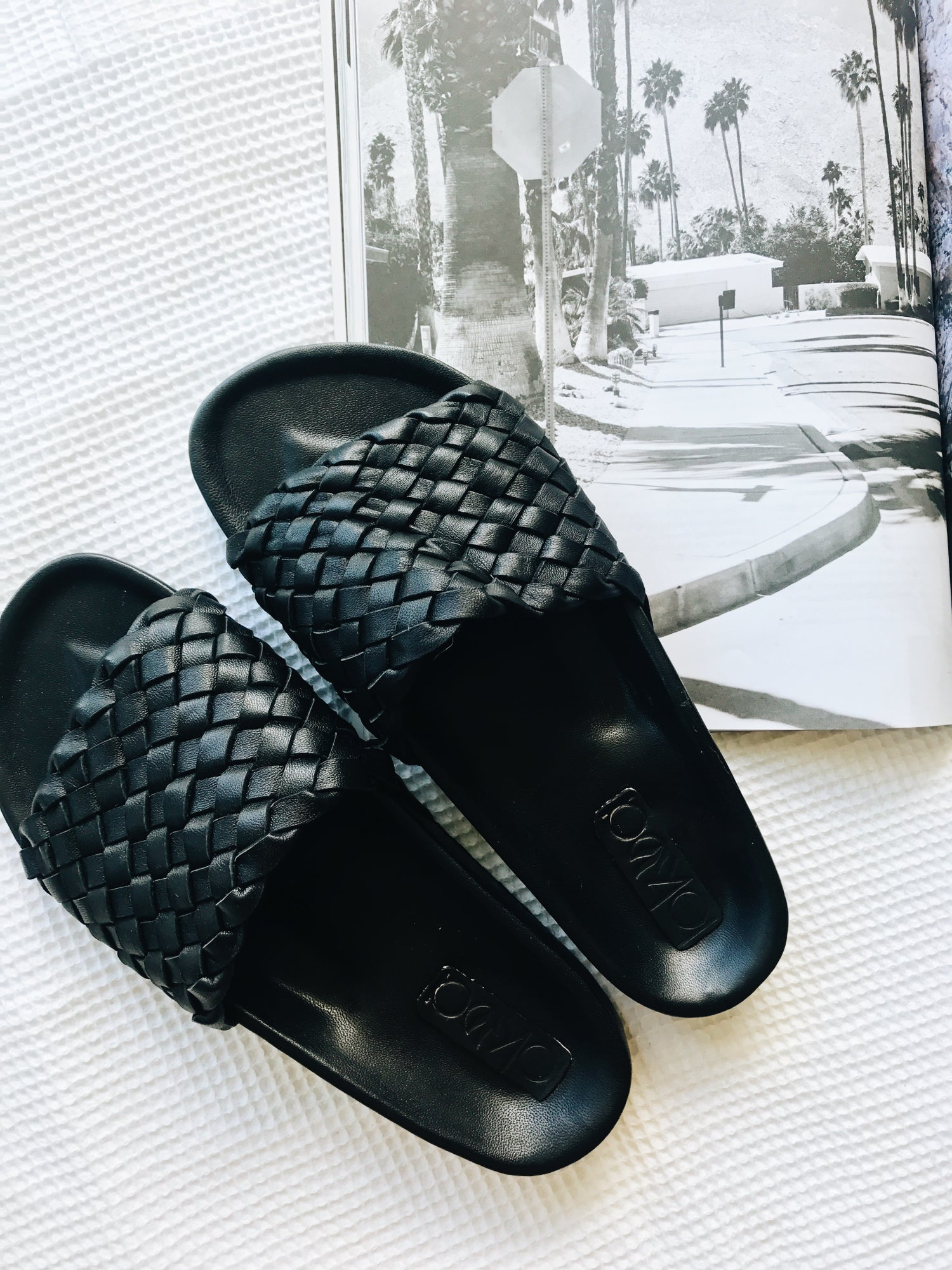 Image of Brixton Leather Slide