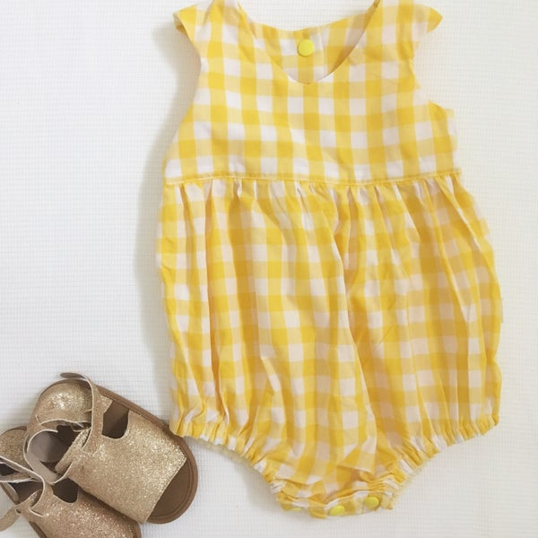 Image of Evie Gingham Playsuit romper