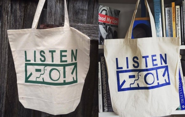 Image of LISTEN Tote Bag