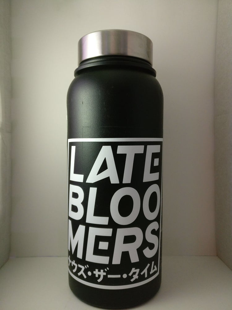 Image of Late Bloomers Box Decal   Vinyl Print