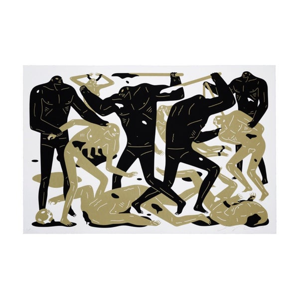 Image of Cleon Peterson - Between man and god - WHITE