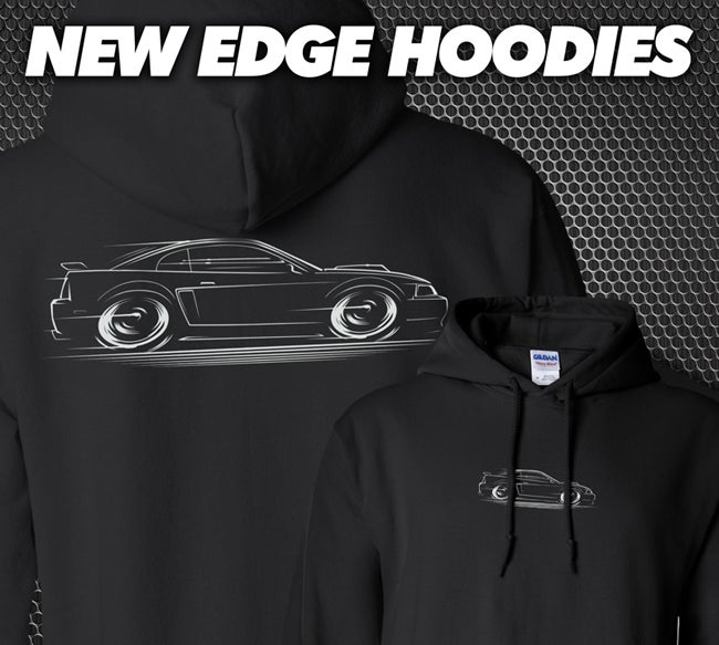 Image of New Edge Mustang '99-'04 T-Shirts Hoodies Banners