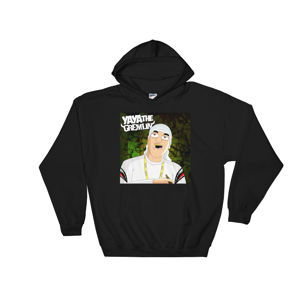Image of YA YA ALBUM COVER - HOODIE [BLACK]