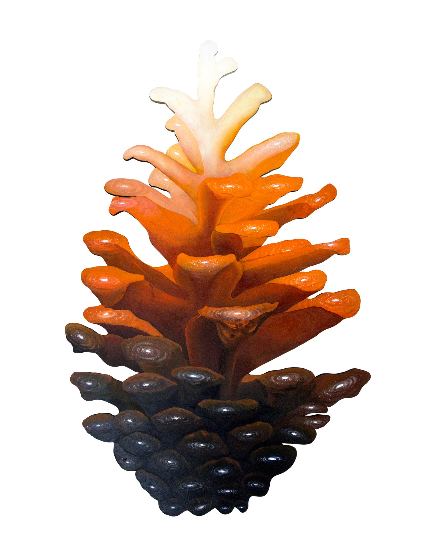 Image of Cosmic Pinecone - orange