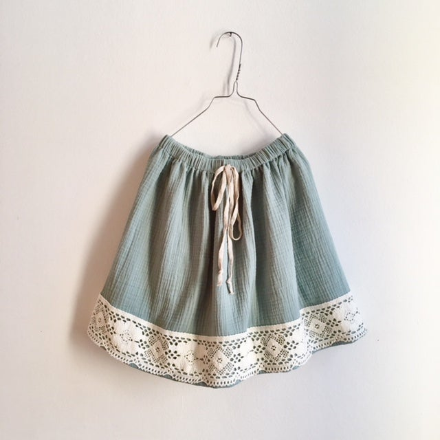 Easy Skirt vintage lace - UNIQUE COLLECTION