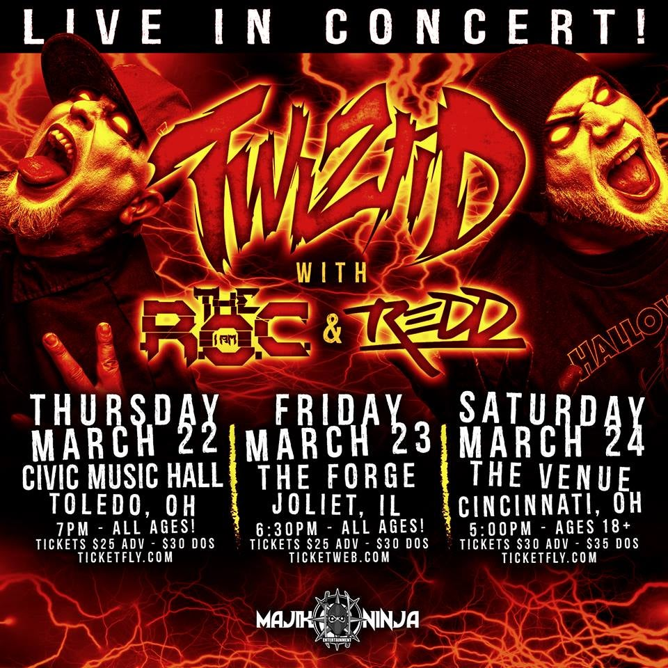 Image of Twiztid Midwest Tour Test Item