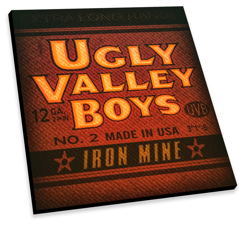 "Image of Ugly Valley Boys ""Iron Mine"" NEW RELEASE 2018"