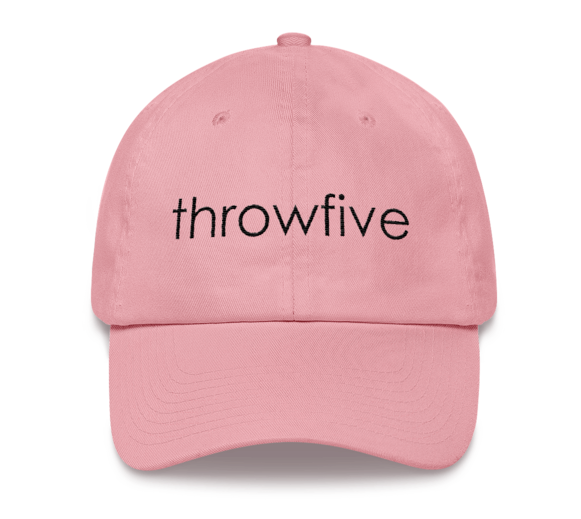 Image of pink hat