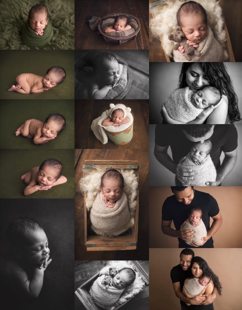 Image of Newborn Session Retainer