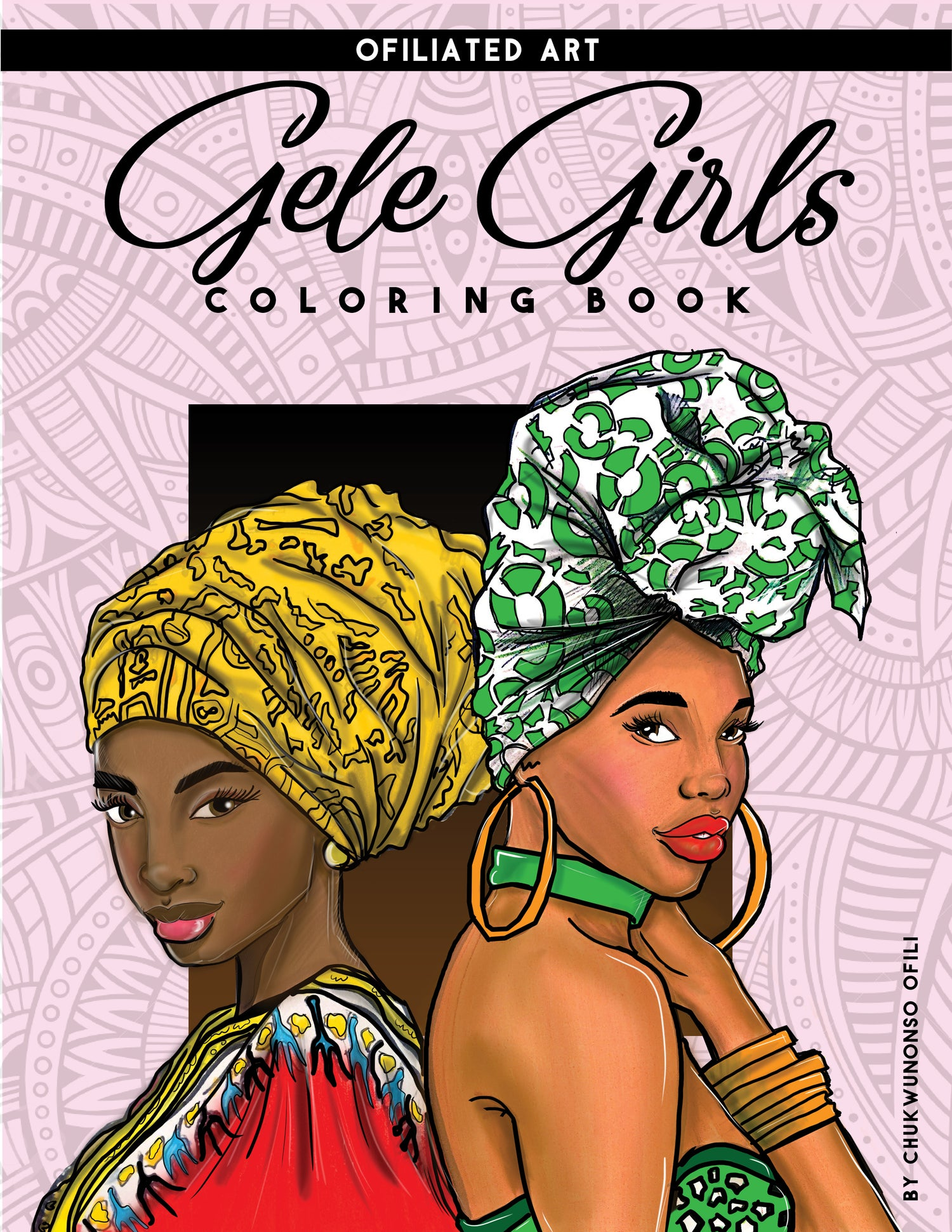 Gele Girls Coloring Book Wahalaclothing