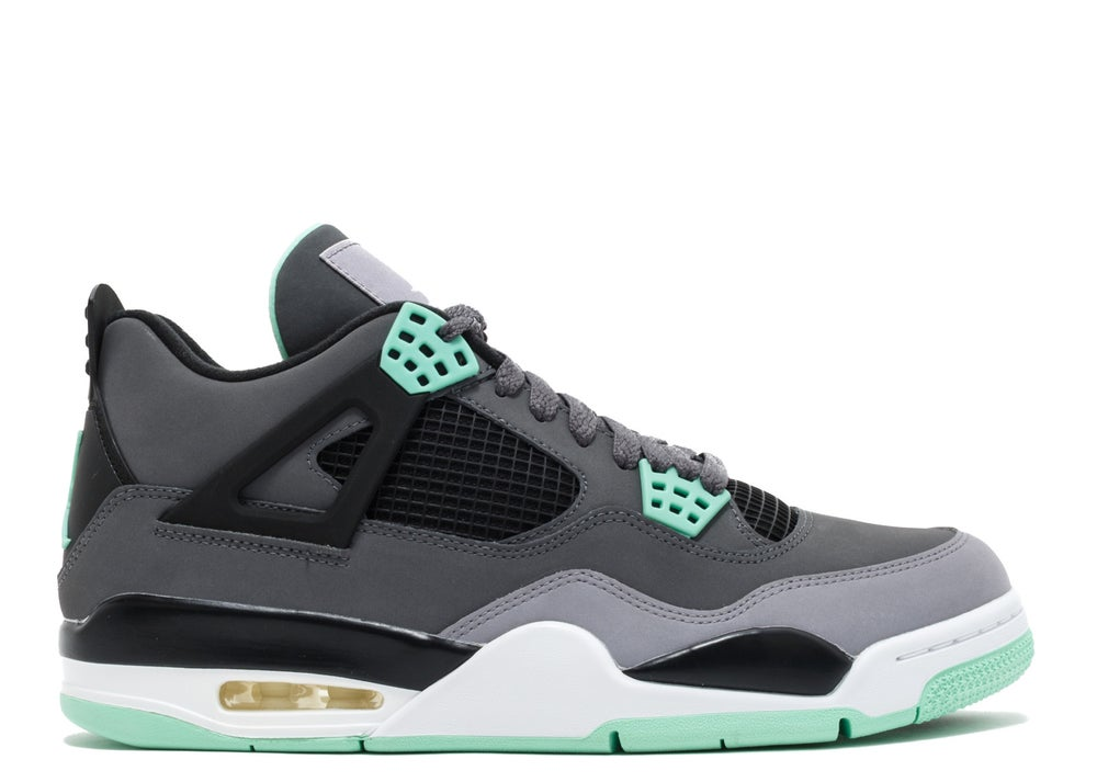 "Image of Jordan 4 ""Green Glow"""
